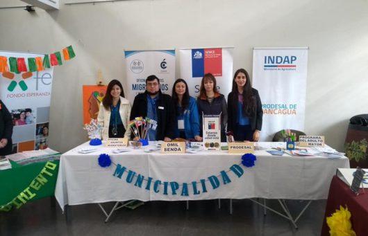Exitosa Feria de Prácticas de Trabajo Social