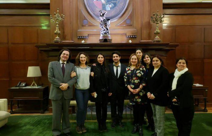 Académica participa en actividades académicas en Buenos Aires, Argentina