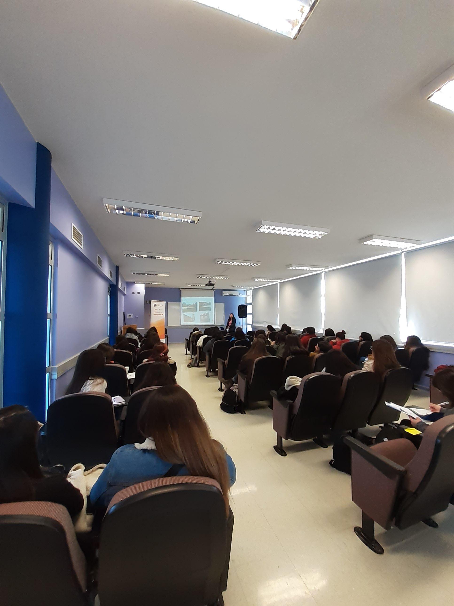 Seminario de presentación de Centros de Práctica de la Escuela de Trabajo Social Curicó
